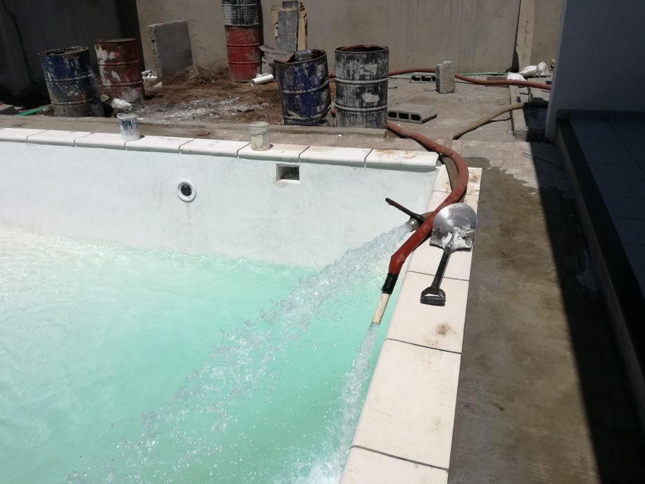 Piscinas, construção, modernização, Manutenção e Fornecimento de Água