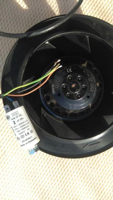 Ventilator 220v ,2700rot/min,75W,gen turbina.
