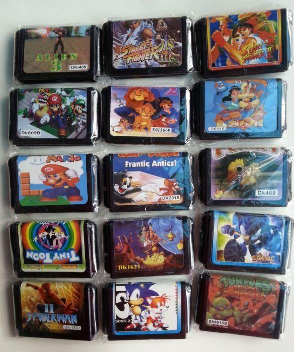 Дискети / Касети / Игри Games за Sega Mega Drive 2 - Сега Мега Драйв