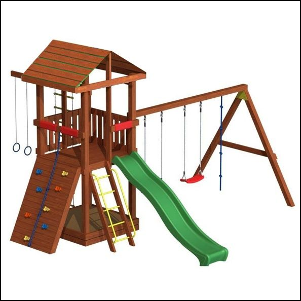 Детская площадка ОТЛИЧНОГО КАЧЕСТВА (горка, качели, песочница и др.)