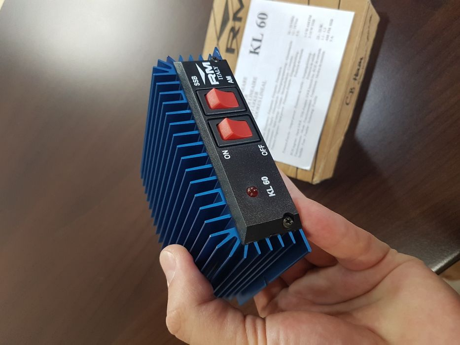 Amplificator liniar de putere pt statii radio CB - RM KL-60 (35W)