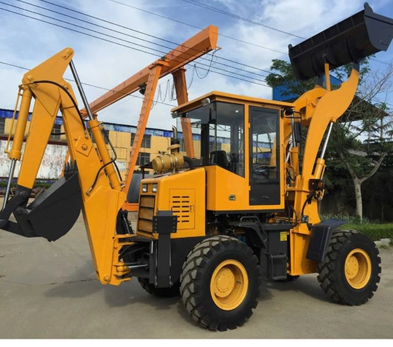 Loader and digger two in One