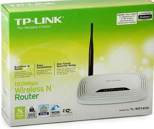 Router, рутер - TP-LINK 740N - перфектен с хубав сигнал.