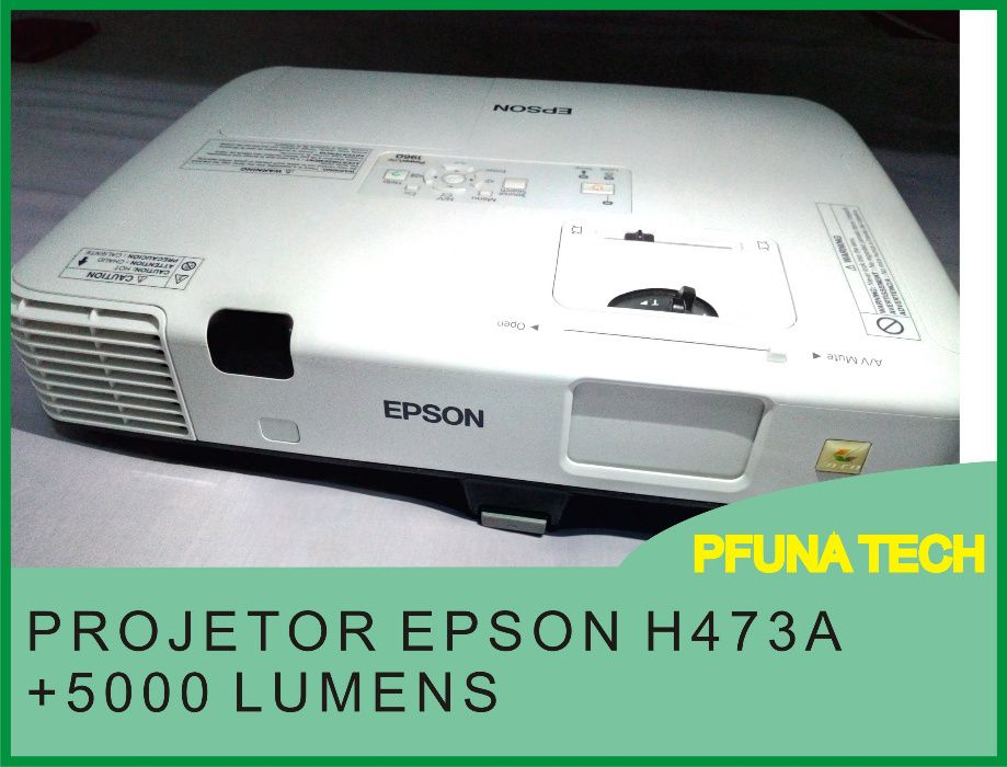 projetor Epson h473A + pasta + lapada extra