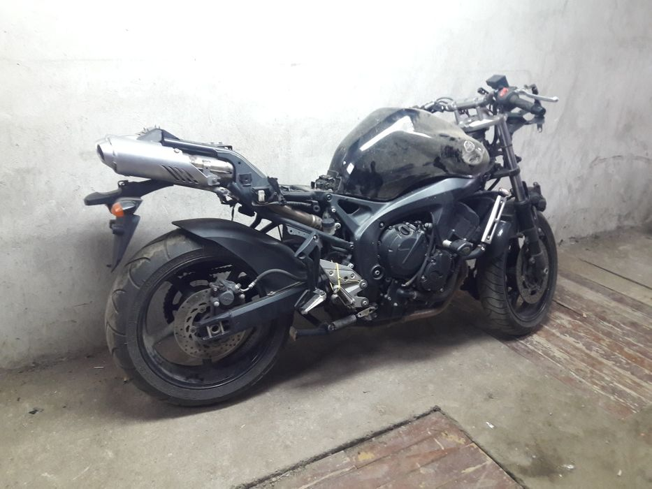 Yamaha fz6 на части