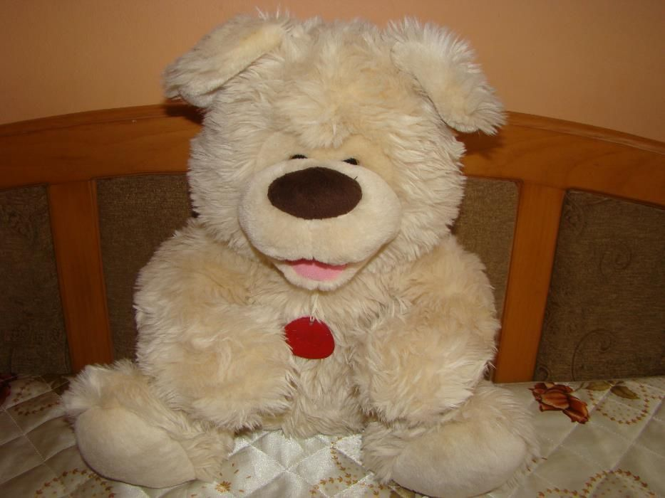 Плюшен мечок за гушкане