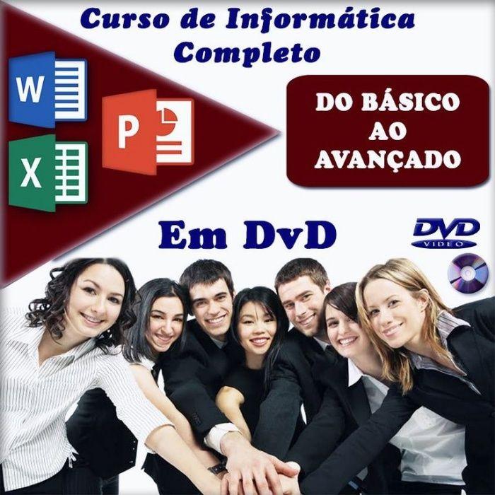 Curso ao domicílio - Informática + Internet