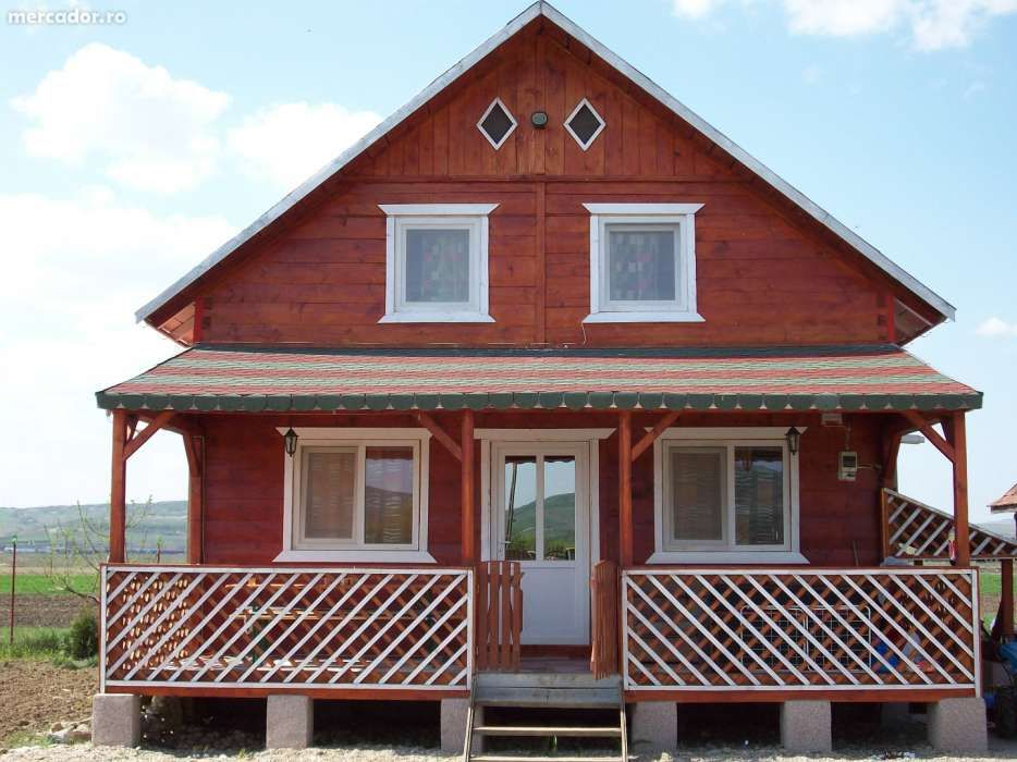 cabane lemn 60-70euro/mp