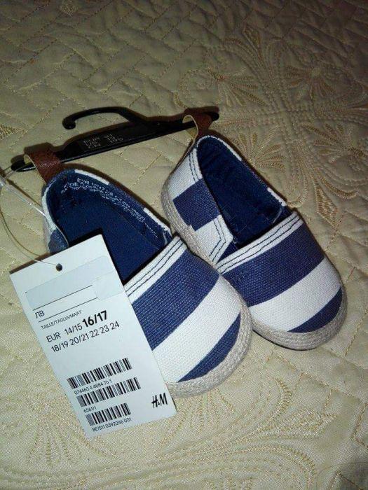Нови Детски обувки H&M размер 16/17