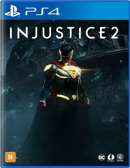 Injustice 2 ps4 selado Sommerschield - imagem 1