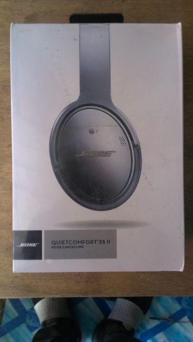 Vendo auricular bose quietcomfort 35 2 original novo em caixa.