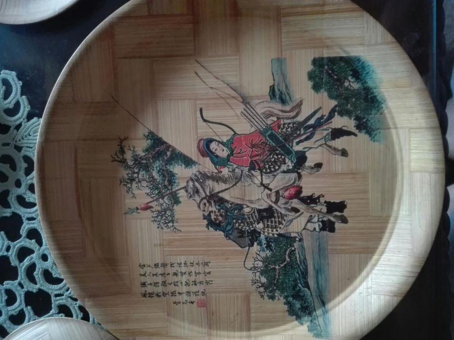 Obiecte-Set farfurii bambus