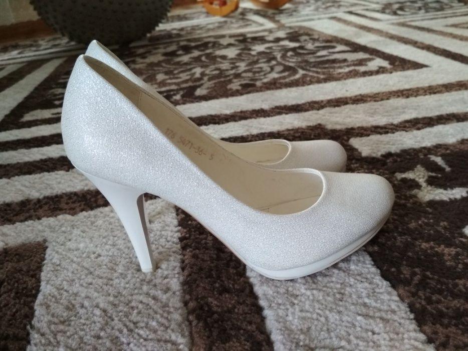 Туфли белые+балетки