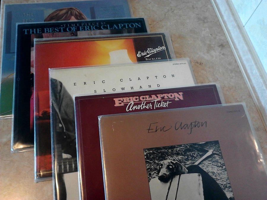 Виниловые пластинки - Eric Clapton
