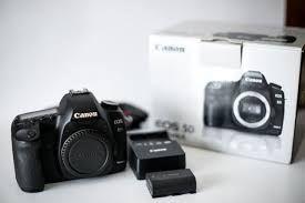 Canon 5D novo a venda