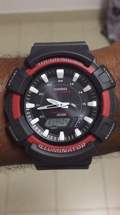 Relógio Casio Novo - Energia Solar