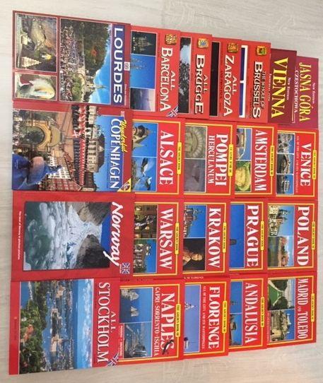 Carti turim in limbile: engleza, franceza, norvegiana, germana, romana