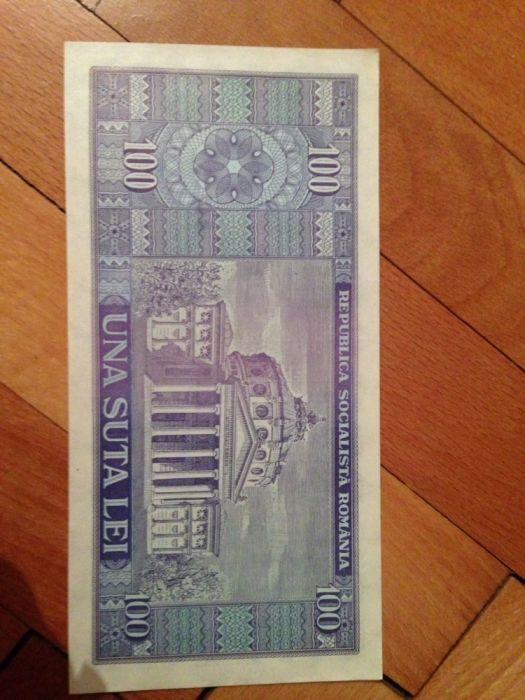 Bancnota una suta lei din 1966