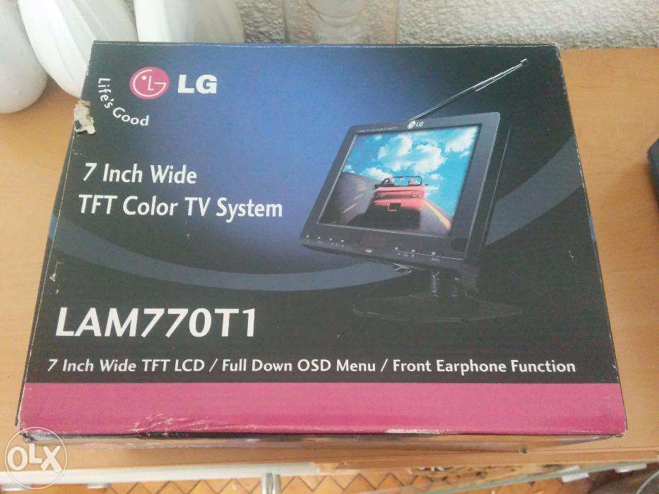 Nou TV LG mic portabil de masina