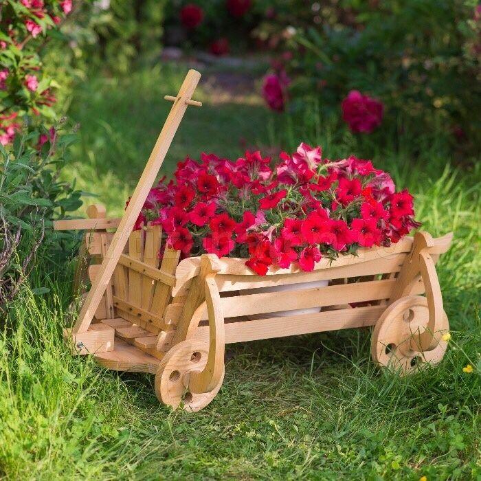 Caruta din lemn/ suport pentru Flori