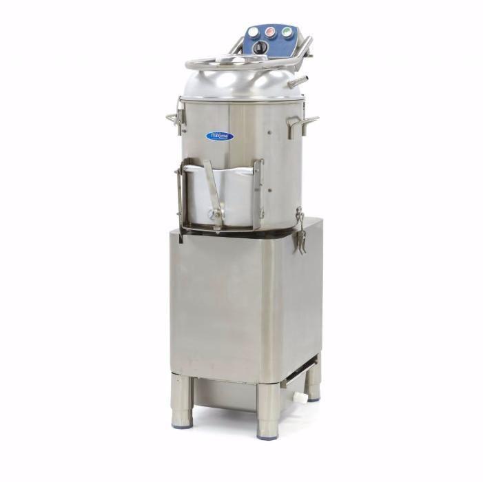Masina de curatat cartofi si legume tari , 750w, 300 kg/h, jet apa