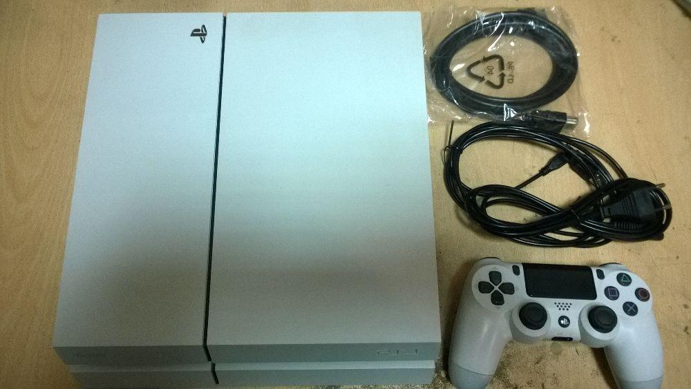 Sony PS4 500GB бял с гаранция!