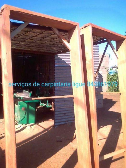 Carpintaria e serviços