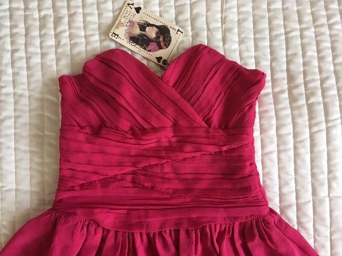 НОВА LOVE LABEL рокля розова размер XXS XS