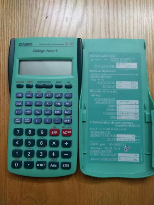 Calculator - Casio fx-92-Collége New + Se vinde pt.piese.