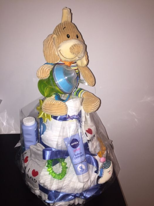 Tort pampers baby