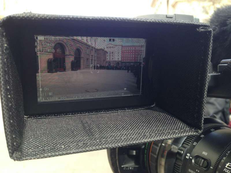 Сенник за LCD дисплей имам всякакви размери за всички камери.