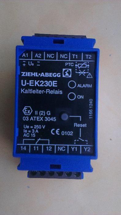 Защита от прегряване термисторна за електро двигатели ZIEHL-ABEGG U-EK