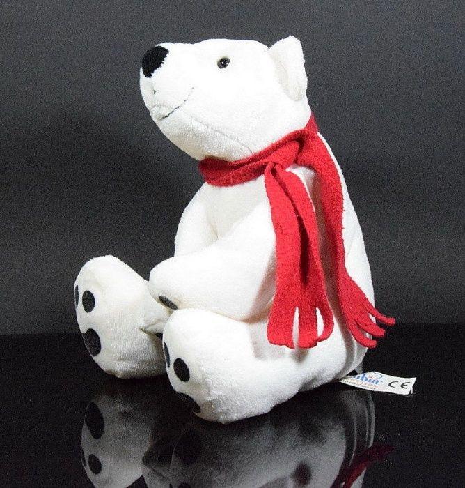 BAMBIA plus plush ursulet urs polar jucarie moale 30 cm nefolosit