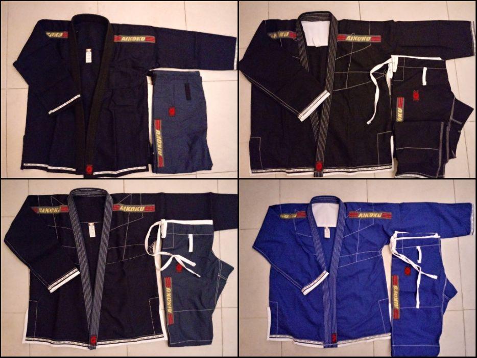 Kimonos de Jiu Jitsu Novos