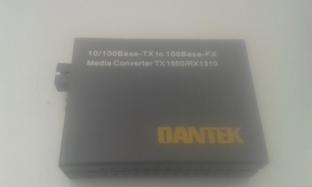 media converter Dantek Model MCB2S1-20