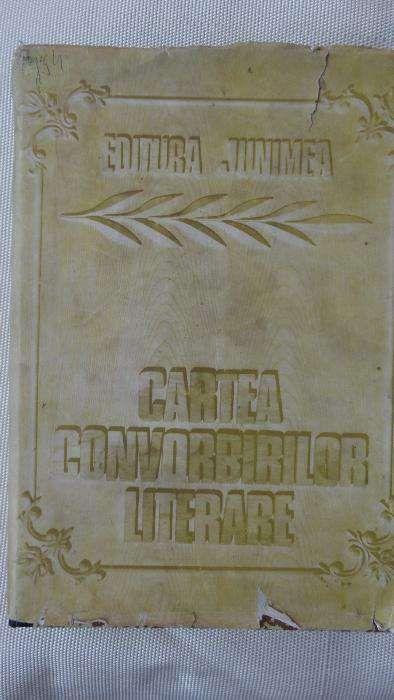 Cartea convorbirilor literare-editie si postfata Pavel Florea