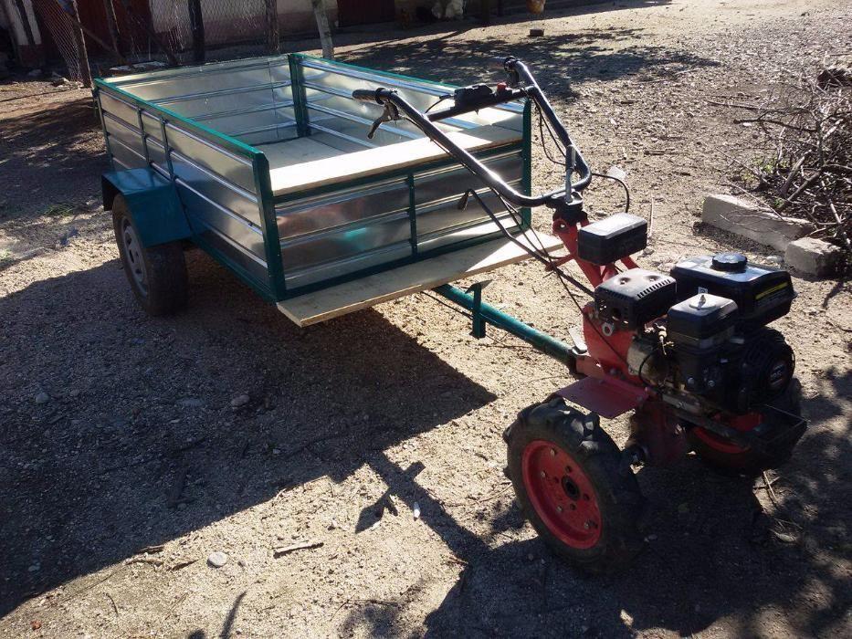 Remorca Motocultor/ ATV/Tractoras/Motosapa noua la comanda