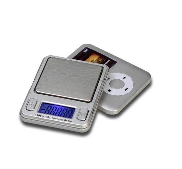 Cantar de buzunar Design MP3 0.01-100g bijuterii aur argint monede