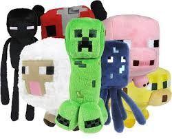 Плюшевые мягкие игрушки Майнкрафт minecraft