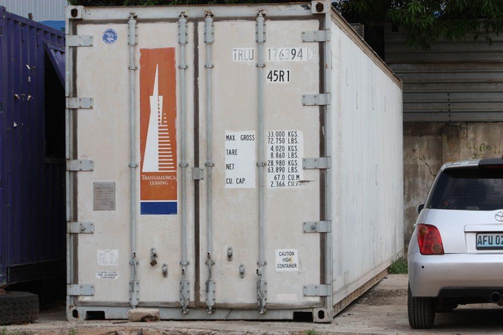 Contentor 40 pes (FRIGORIFICO)