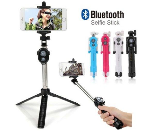 Selfie stick bluetooth cu trepied pt SMARTPHONE ANDROID