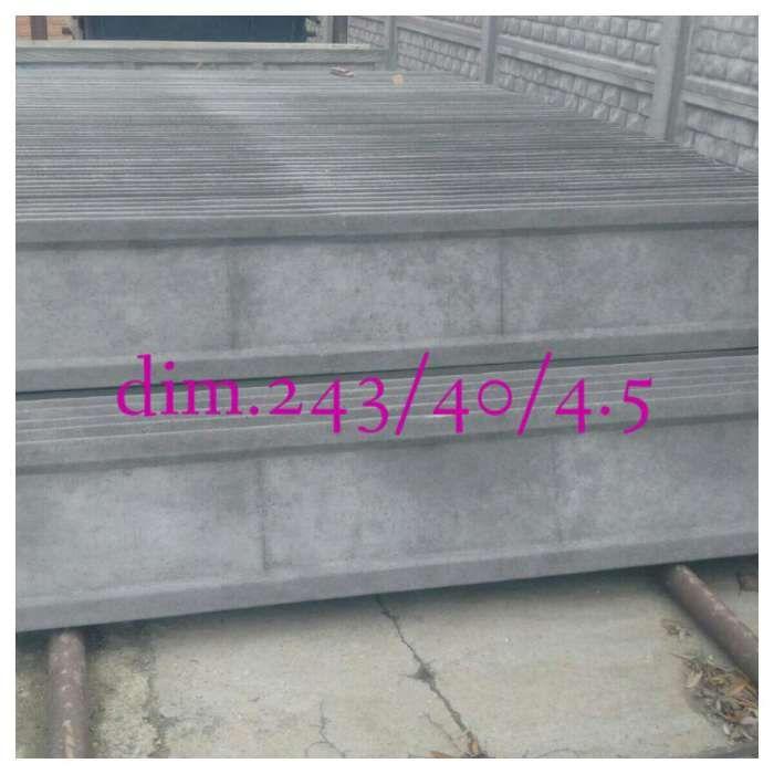 Gard din prefabricate beton