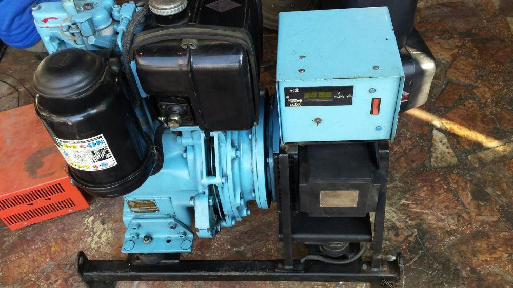 Generator 3,5kw diesel motor hatz