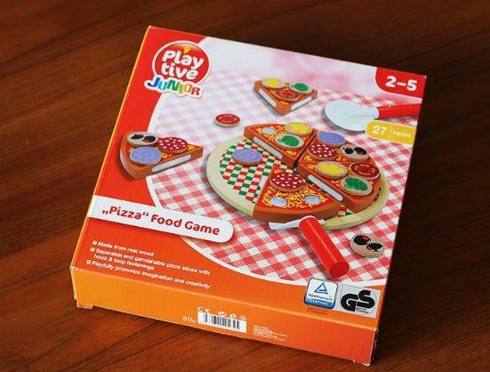 Wood Pizza с лепки за деца всички дървени играчки на хубави цени гр. Бургас - image 4