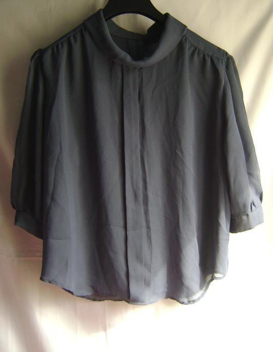 Bluză vintage gri