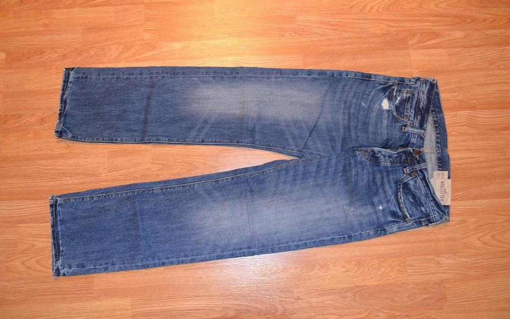 Pantaloni blue jeans blugi Hollister model Balboa marime 30x32, noi