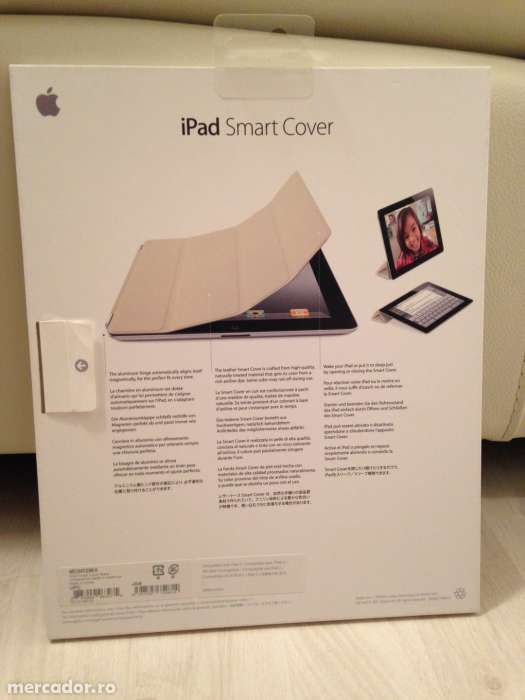 Apple iPad Smart Cover-Leather-Black