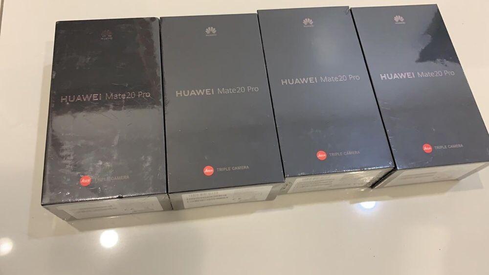 Huawei Mate20 Pro single 128GB novo na caixa selado