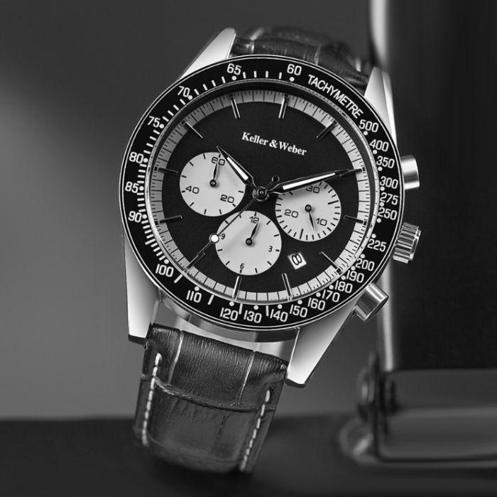 Vendo relógio Cronografo marca Keller & Weber original