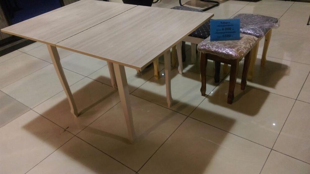 Столы кухонные с поворотной системой раскладки